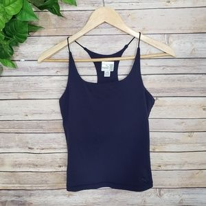 Puma Active Navy Blue Strap Tank Top Size M